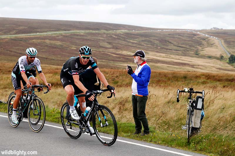 The Cat and Fiddle was featured in the 2016 Tour of Britain.