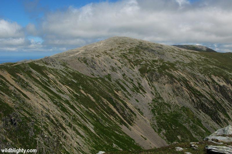 View of Carnedd Dafydd