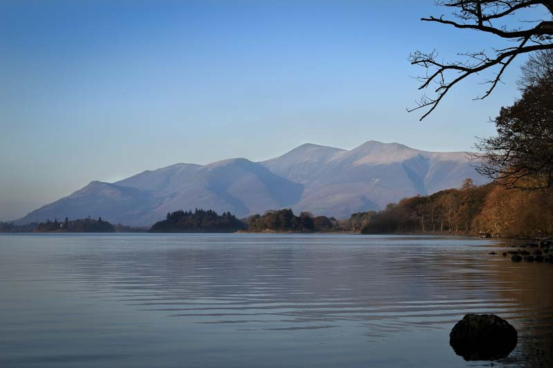 The Skiddaw range in the Lake District