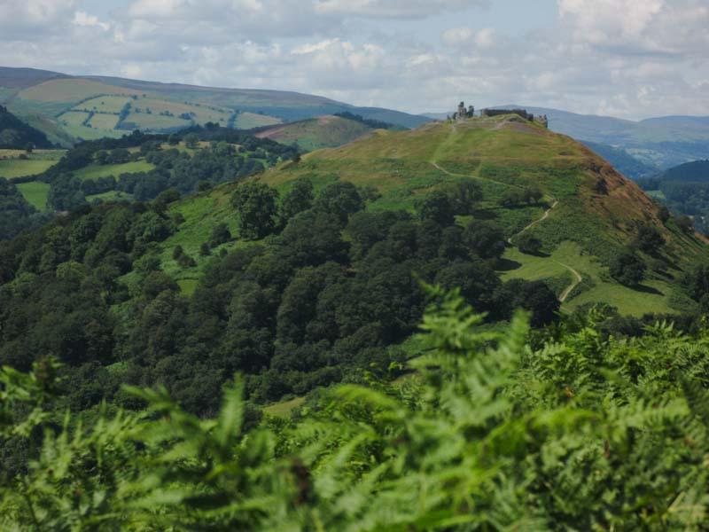 Castell Dinas Bran in Llangollen