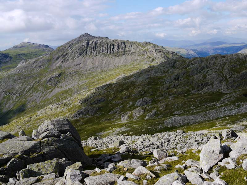 Bowfell in the Lake District