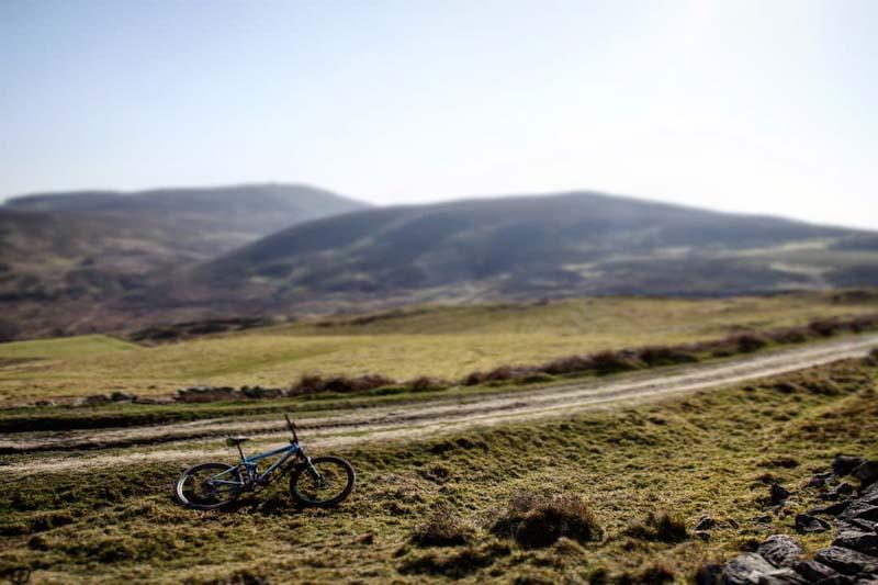 Close to Moel Llys-Y-Coed in the Clwydian Range