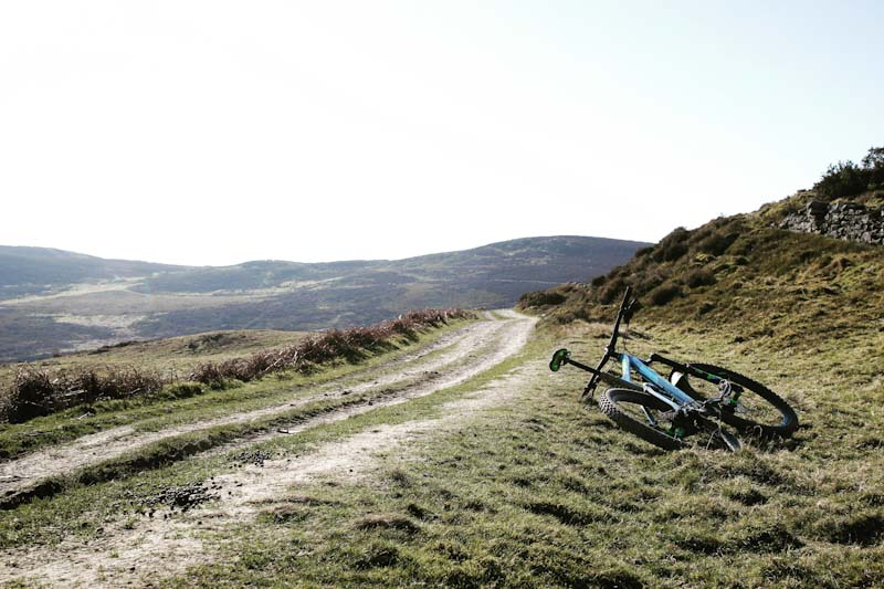 Mountain biking the wild Clwydian range