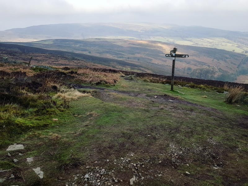 Epic views from Moel Famau