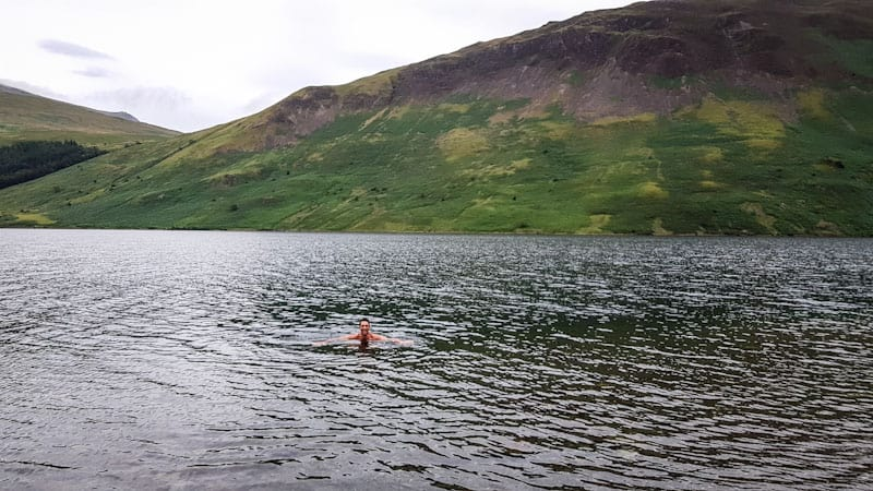 Swimming in Wast Water
