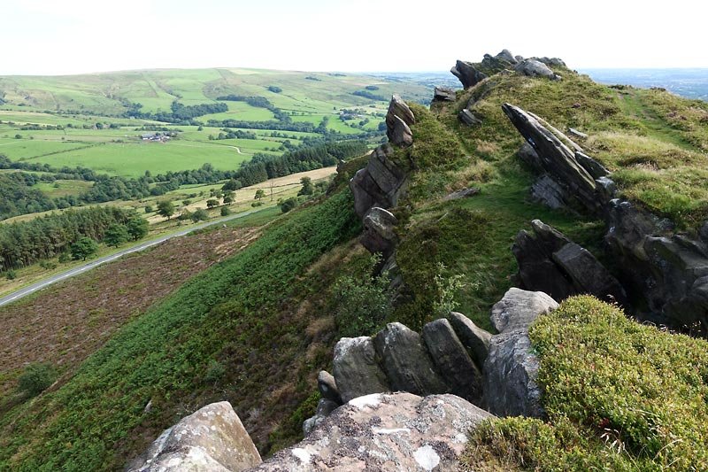 View from Ramshaw Rocks