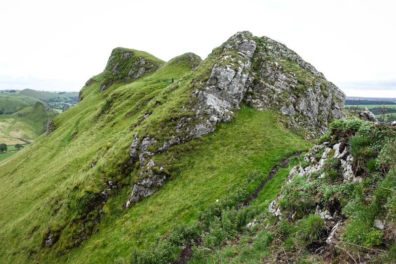 The Chrome Hill summit path