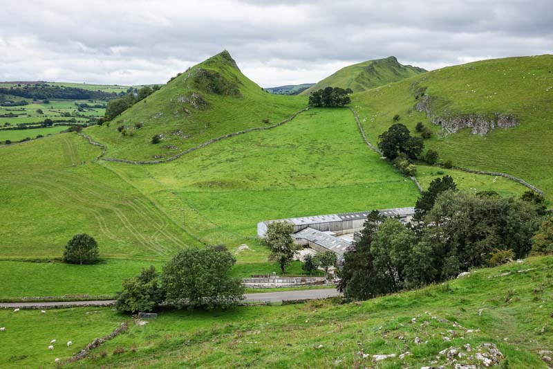 View of Parkhouse Hill and Chrome Hill
